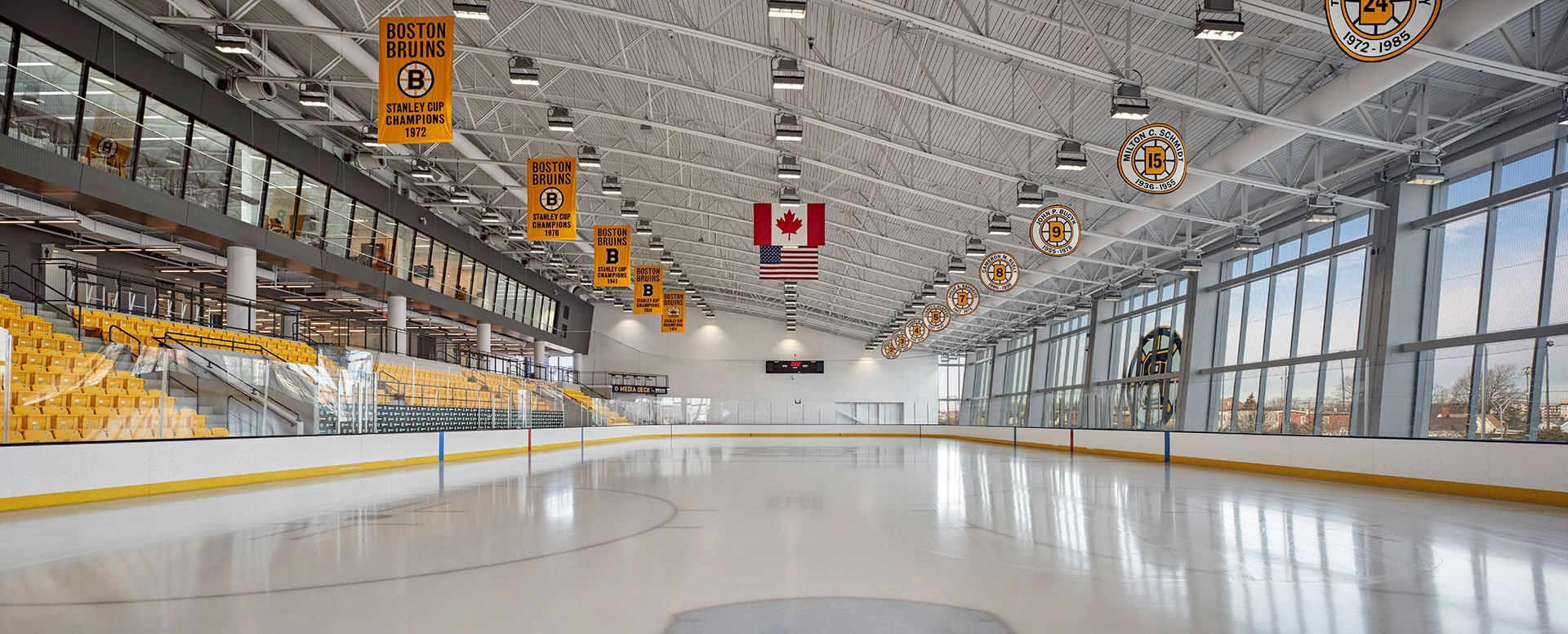 Warrior Ice Arena, Brighton, MA