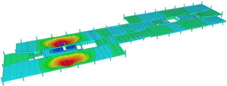 West Wing Floor Vibration Mode